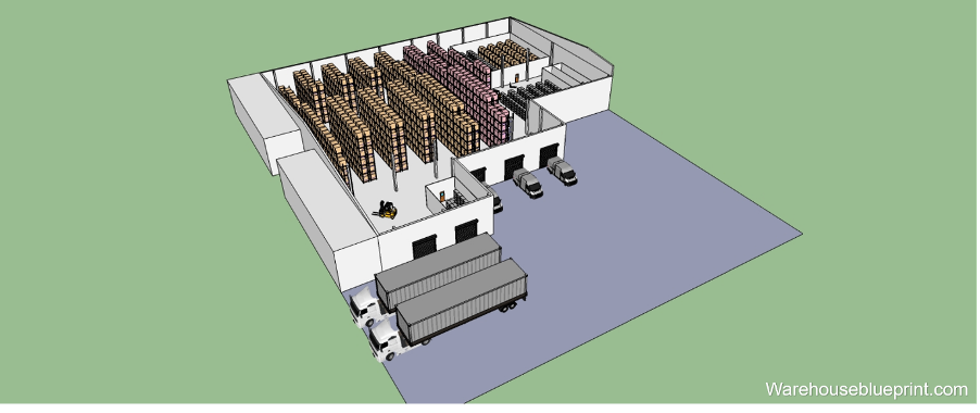 How to Quickly Design your Warehouse Layout in 3D