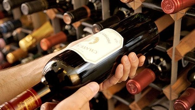Proper Way to Place wine in the cellar