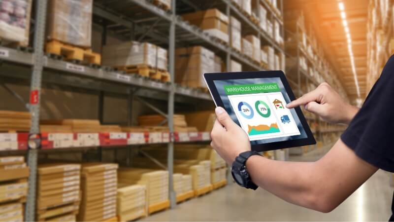 Deploying Industrial Internet of Things in a Warehouse