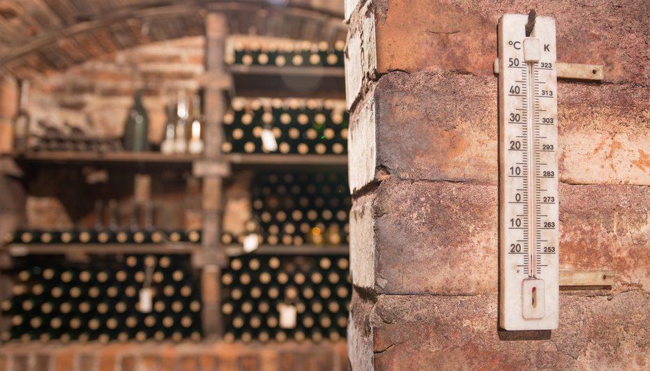 wine cellar temperature monitoring
