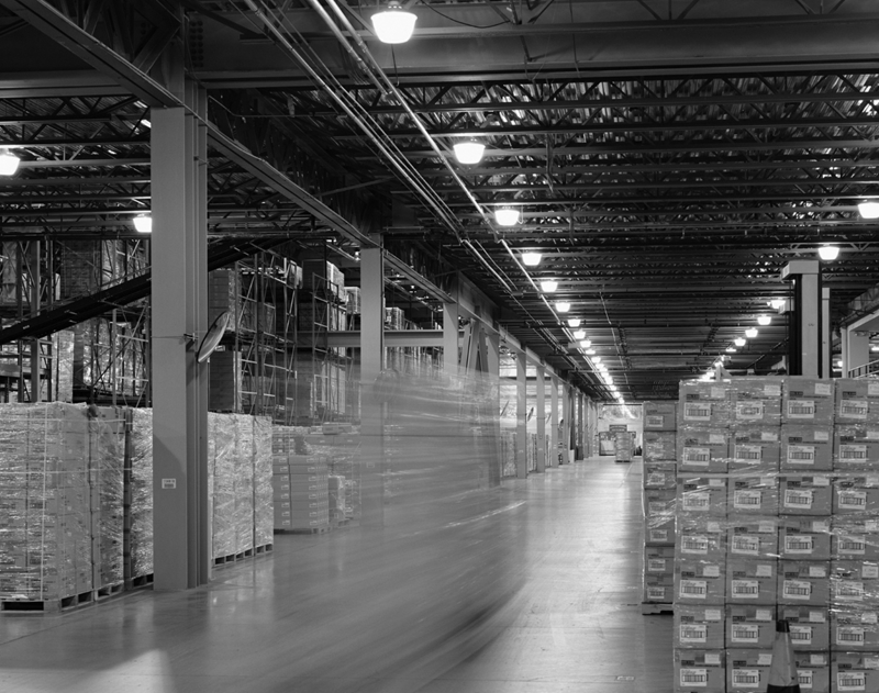How does rfid works for Warehouse Automation